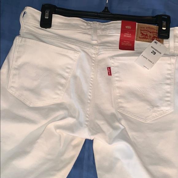Levi's Denim - Levi's white jeans